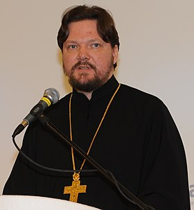 Fr Georgy Roshchin, Vice President, Moscow Patriarchate Department for Church Society Relations, Russia - Flickr - Horasis (cropped).jpg