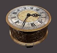 France Tile table clock.jpg