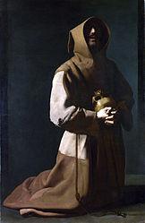 Francisco de Zurbarán: Saint Francis in Meditation