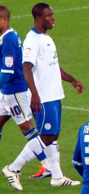 Franck Moussa - Moussa playing for Leicester City in 2011