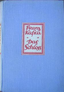 <i>The Castle</i> (novel) novel by Franz Kafka