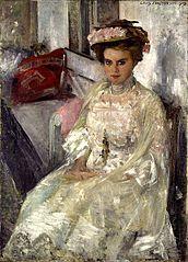 Porträt Frau Douglas