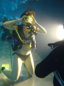 Consider, that Scuba diving sexy women