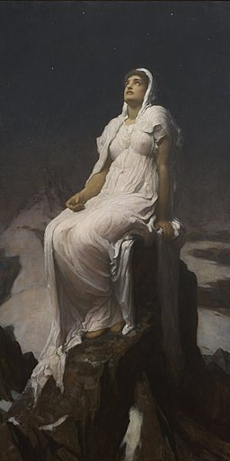 Frederic Leighton - The Spirit of the Summit - 1926-4 - Auckland Art Gallery