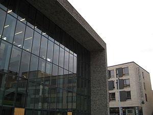 Frederiksberg Gymnasium - Image: Frederiksberg Gymnasium detail 1