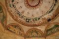 Frescoes inside Sethani ki Chhatri, Farrukhnagar.jpg