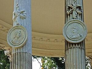 Temple of Friendship - Image: Freundespaar Pylades + Orestes