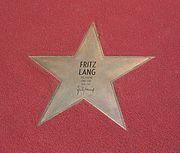 Fritz Lang - Boulevard der Stars