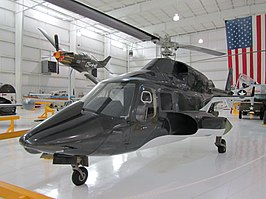 Replica van de Airwolf op ware grootte (Tennessee Museum of Aviation, Sevierville, Tennessee)