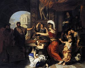 Achilles Discovered Amongst the Daughters of Lycomedes