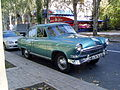 "GAZ-21 ""Volga"" (metallic colored) in Donetsk, Ukraine (whole view).jpg"