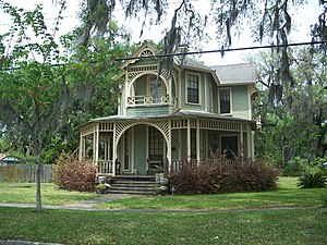 Green Cove Springs Historic District - Image: GCS FL HD Kirkpatrick Wilcox House 01