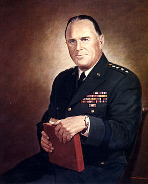 George Decker - General George H. Decker, official portrait by Woodi Ishmael