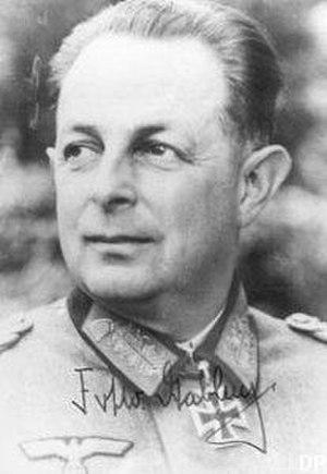 Eccard Freiherr von Gablenz - Image: Gablenz Eccard