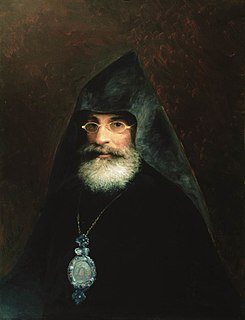 Gabriel Aivazovsky Archbishop, historian, scientist