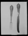 Gaffel samhörande med kniv nr 4918 - Livrustkammaren - 70784.tif