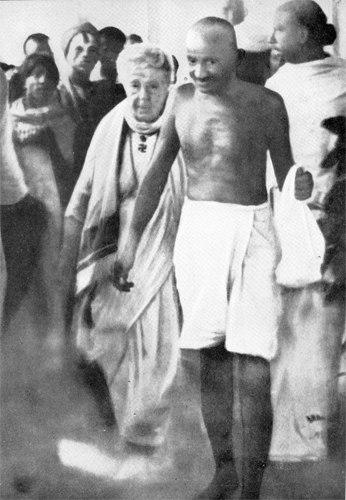 Gandhi besant madras1921