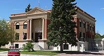 Garden County, Nebraska courthouse from SE 1.JPG