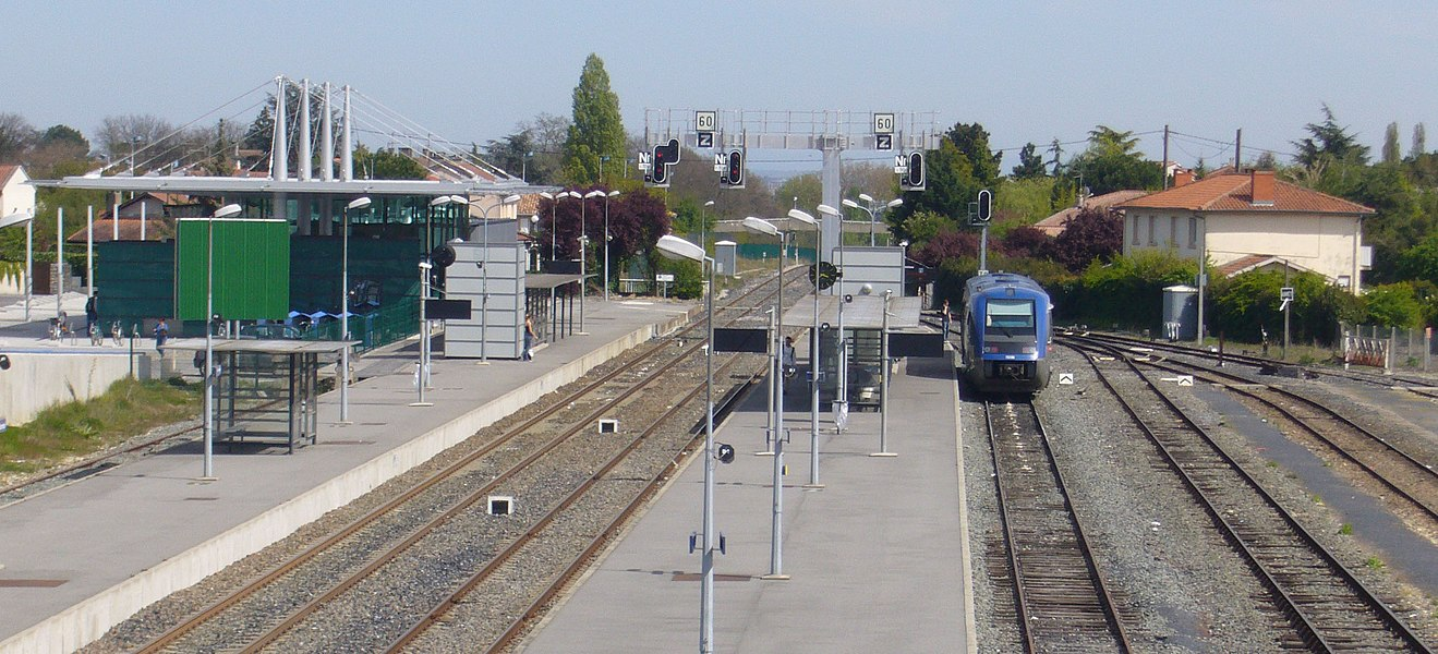 Colomiers (Haute-Garonne, France): La gare.