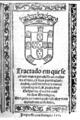 Gaspar da Cruz - 1569 - Tractado - title page.png