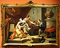 Gaspare diziani, sofonisba riceve il veleno inviatole da massinissa, 1745 ca.jpg
