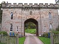 Gatehouse at Cholmondeley Castle - geograph.org.uk - 255800.jpg