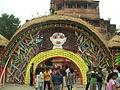 Gateway (inside) 25 Palli 2010 Arnab Dutta.JPG