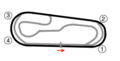 Gateway Motorsports Park oval track map.png