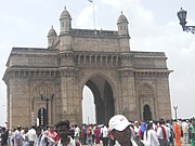 The Gateway of India was built to commemorate the arrival in India, on 2nd December 1911, of King George V and Queen Mary and was completed on 4th December, 1924.