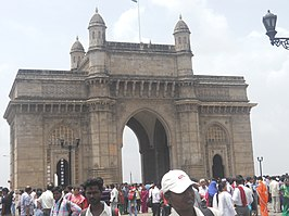 De Gateway of India gezien vanuit de haven, 2003