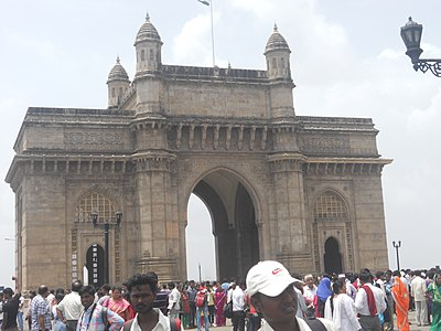 The Gateway of India is the most recognizable symbol of the city. It was built to commemorate the visit of the British Monarch King George V to India in 1911.