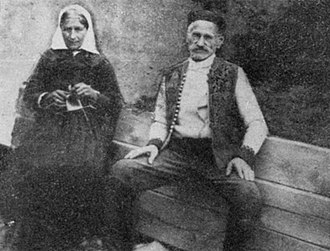 Gavrilo Princip - Gavrilo Princip's parents, Marija and Petar, in 1927