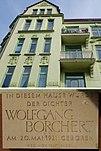Geburtshaus von Wolfgang Borchert, Tarpenbekstrasse in Hamburg-Eppendorf