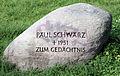 Gedenkstein Paul-Schwarz-Promenade (Stegl) Paul Schwarz.jpg