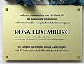 Gedenktafel Wielandstr 23 (Schön) Rosa Luxemburg.jpg