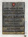 Gedenktafel Wotanstr 7 (Liber) Erich Rohde.jpg