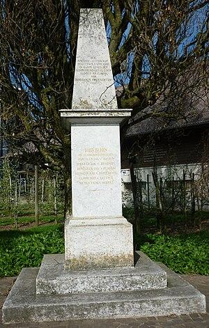 Gisikon - Geltwil memorial for the 1847 Gyslikon battle.