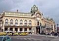 Gemeinde- oder Repräsentationshaus - Konzerthalle (Obecní dům) mit französisches Restaurant Francouzská Restaurace, Praha, Prague, Prag - panoramio.jpg