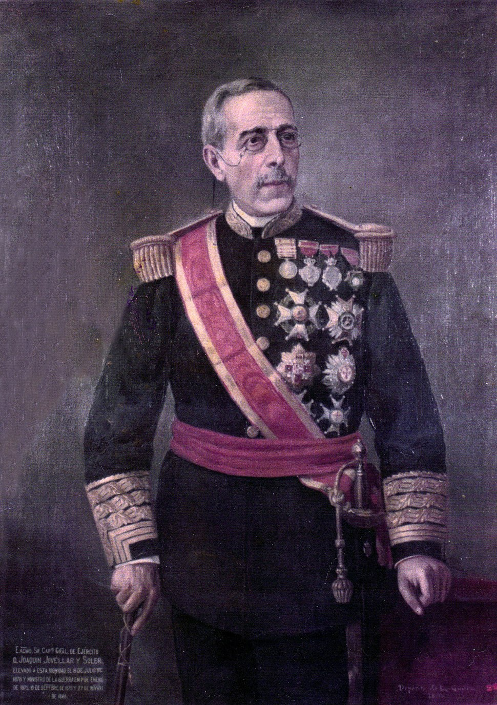 General Joaquin Jovellar y Soler painting