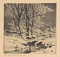 George Elbert Burr, First Snow (No. 1), c. 1914, NGA 182338.jpg