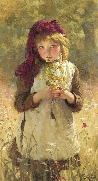 File:George Elgar Hicks - Buttercups.jpg