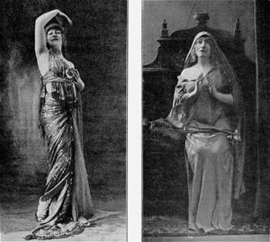 Georgette Leblanc - Georgette Leblanc in Mary Magdalene (1910)