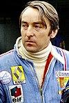 Gérard Larrousse (ici en 1975), le fondateur de l'écurie éponyme.