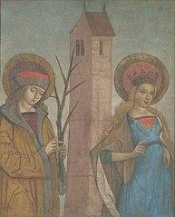 Saints Achatius, Barbara, Apollonia, and Sebald