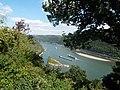 Germany - Blick vom Günderodehaus auf das Rheintal in Richtung Loreley - panoramio.jpg