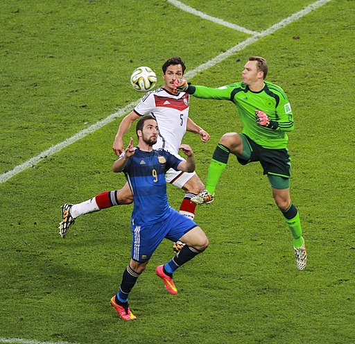 Germany and Argentina face off in the final of the World Cup 2014 -2014-07-13 (36)