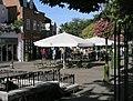 Giant parasols, Carfax, Horsham - geograph.org.uk - 238715.jpg