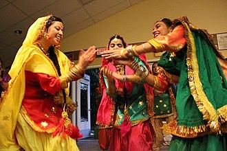 Teej - Giddha dance Teeyan Punjab