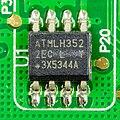 Gigaset DA810A - LCD display - controller - Atmel H3522EC-9644.jpg