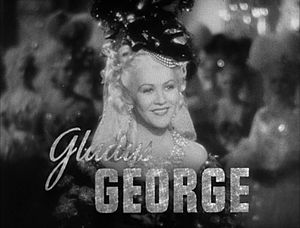 Gladys George - from the trailer for the film Marie Antoinette (1938)